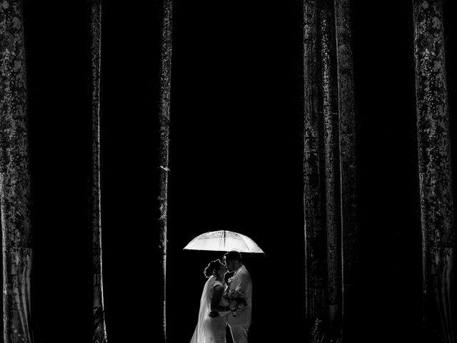 O casamento de Cíntia e Dalton