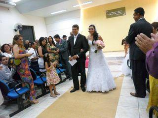 O casamento de Carla e Flávio