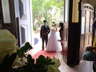 O casamento de Cecilia  e Jean 1