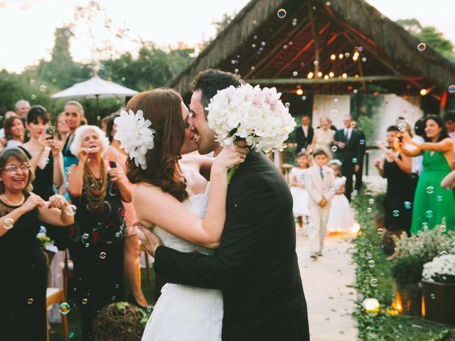 O casamento de Larissa e Matt
