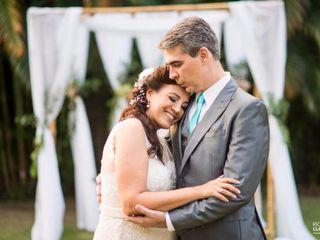 O casamento de Silvana e André