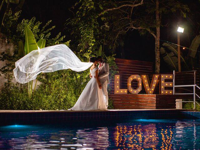 O casamento de Viviane e Luiz Carlos