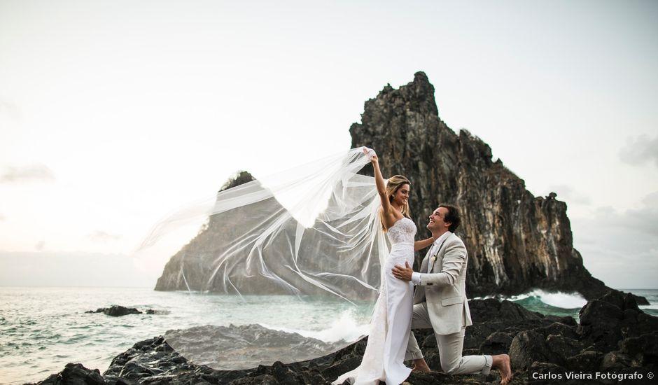 O casamento de Serginho e Juju em Fernando de Noronha, Pernambuco