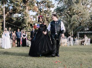 O casamento de Calila e Moabi