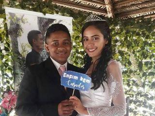 O casamento de Antonío da Cruz  e Maria de Fátima  1