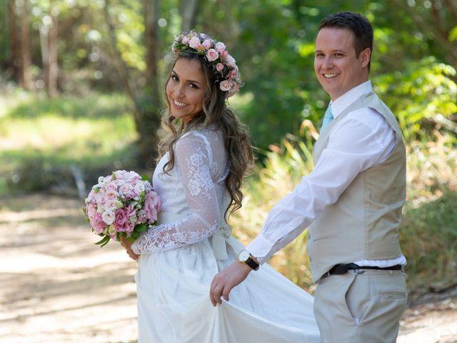O casamento de Aveline e Darlan
