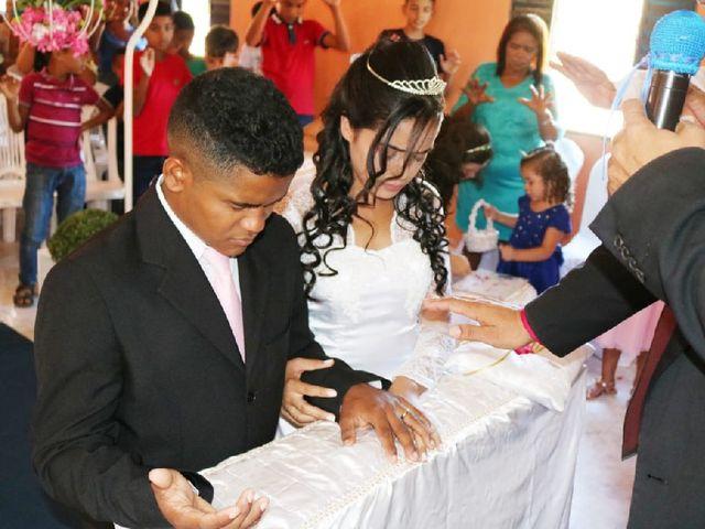 O casamento de Maria de Fátima  e Antonío da Cruz  em Beneditinos, Piauí 1