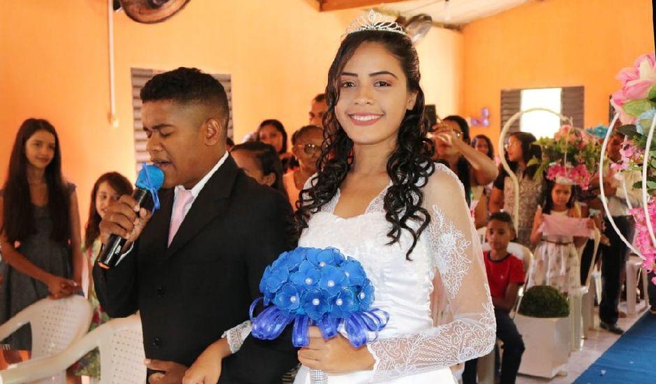 O casamento de Maria de Fátima  e Antonío da Cruz  em Beneditinos, Piauí
