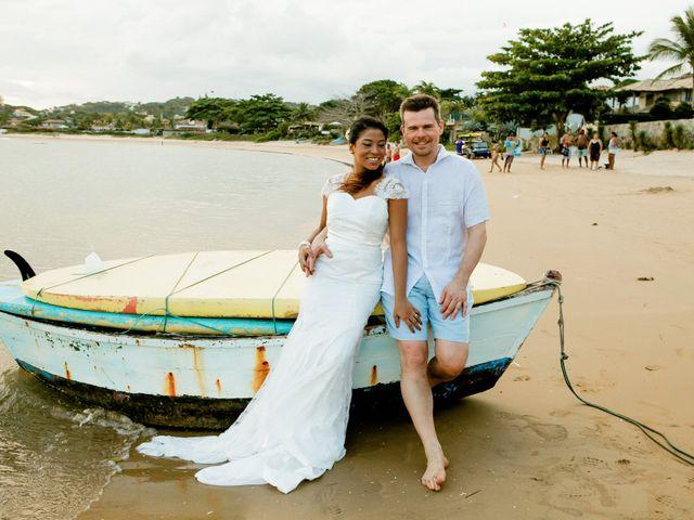 O casamento de Marília e Peter