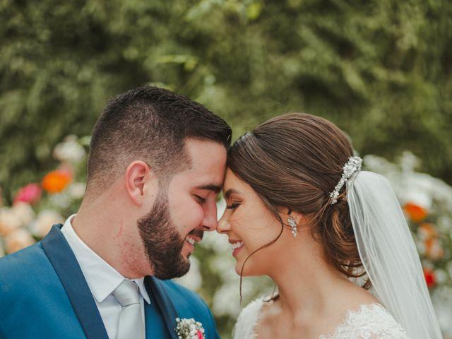 O casamento de Larissa e Ibsen