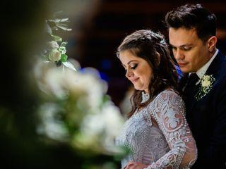 O casamento de Débora e José