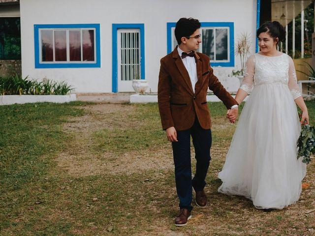 O casamento de Evelyn e Abner