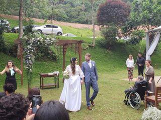 O casamento de Livia e Bruno