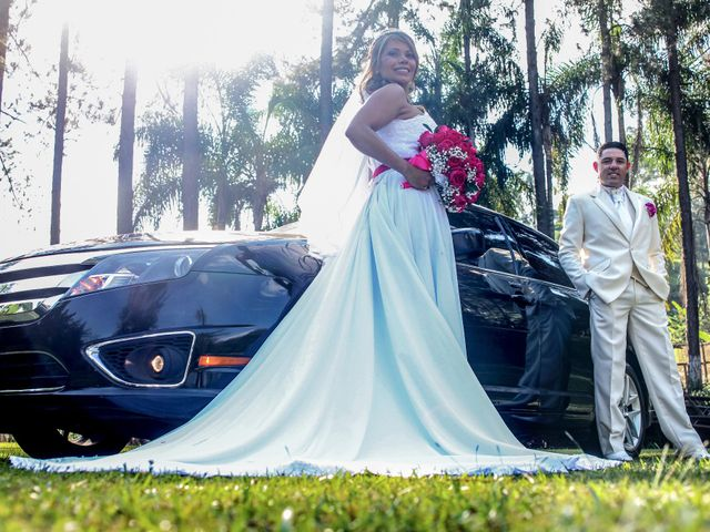 O casamento de Camila e Ricardo