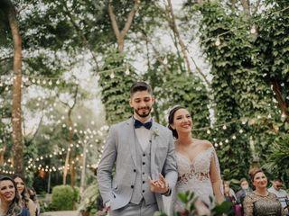 O casamento de Miriam e Pedro