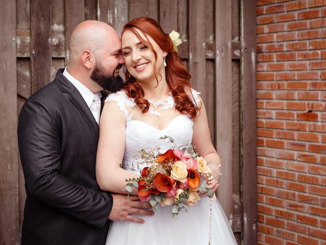 O casamento de Bia e Evandro