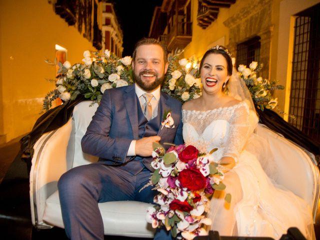 O casamento de Caroline e Marcelo