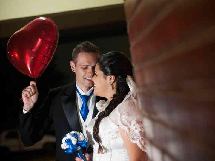 O casamento de Karina e João