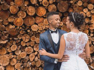 O casamento de Jacqueline e Hebert