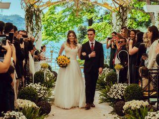 O casamento de Victoria e Gabriel