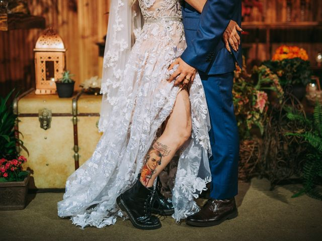 O casamento de Laura e Vicente