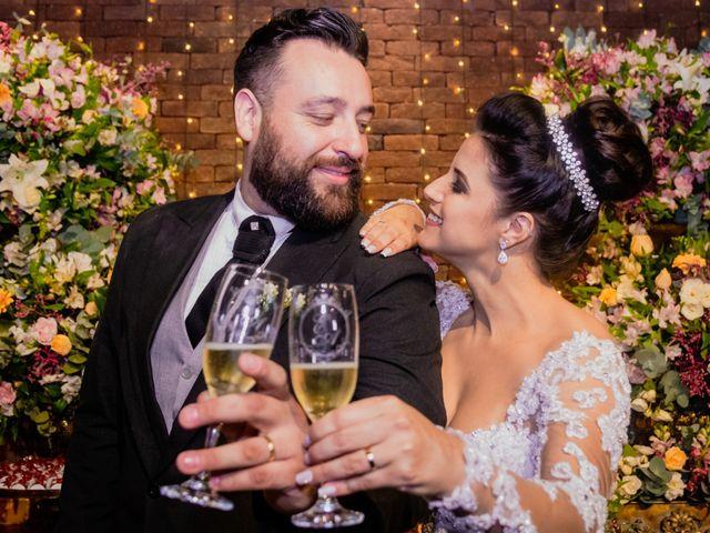 O casamento de Erika e André