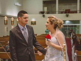 O casamento de Monique  e Max 1