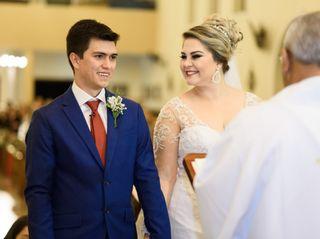 O casamento de Suellen  e Renan