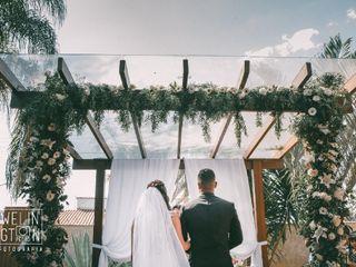 O casamento de Karen e Fábio