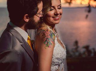 O casamento de Lisi e Isma
