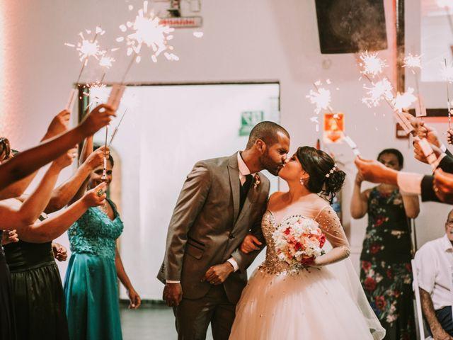 O casamento de Alessandra e Alisson