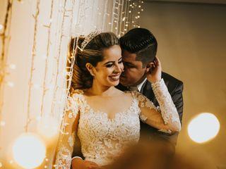 O casamento de Carollyne e Diego