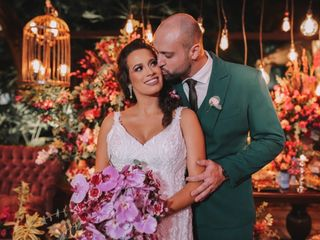 O casamento de Carla e Gabriel