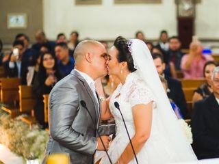 O casamento de Aretha e Carlos