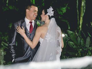 O casamento de Cleide e Victor