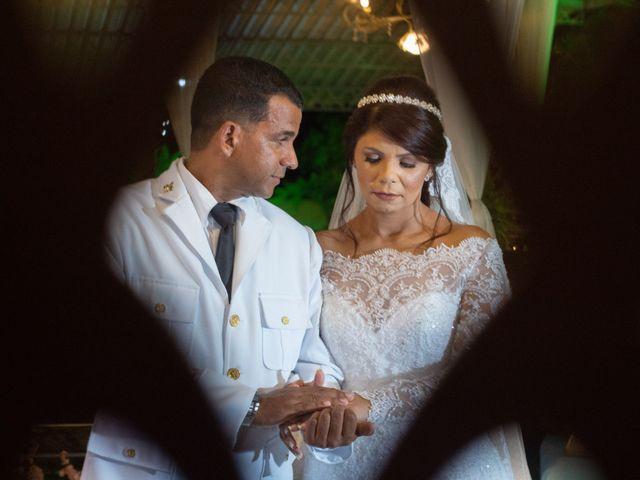 O casamento de Viviane e João