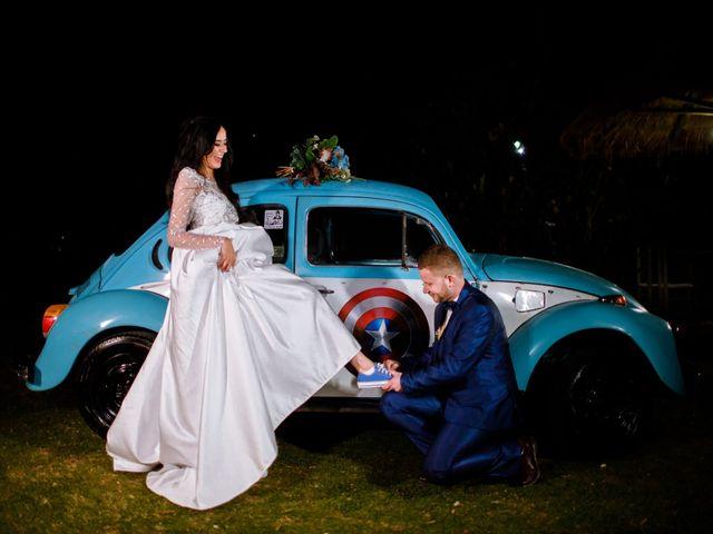 O casamento de Aline e Mateus