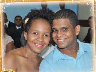 O casamento de Edicleide e Netson