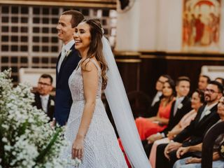 O casamento de Marina e Raphael