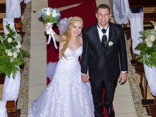 O casamento de Fran e Rodrigo