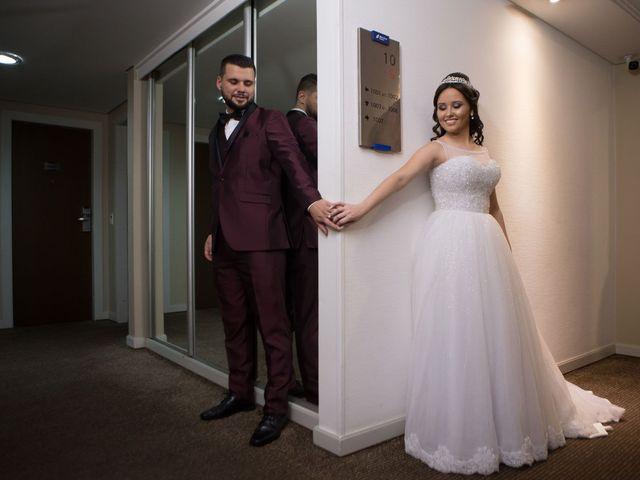 O casamento de Gizelly e Denilson em Joinville, Santa Catarina 4