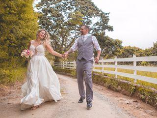 O casamento de Egle e Madson