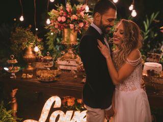 O casamento de Lais e Carlos