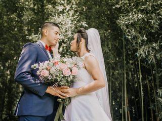 O casamento de Stella e Victor