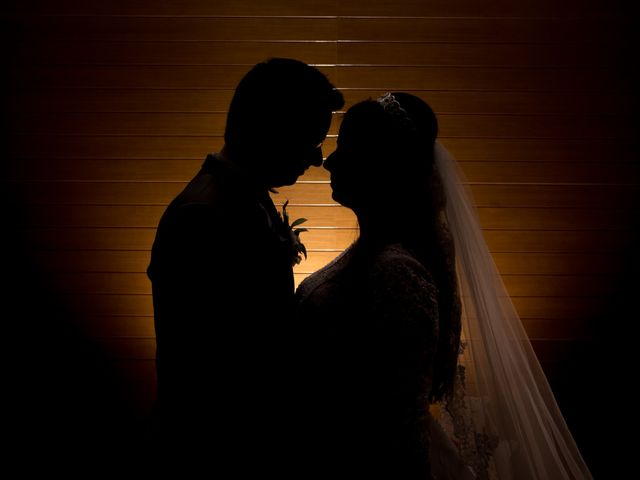 O casamento de Domenique e Raffael