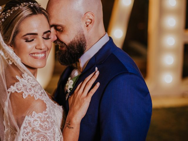 O casamento de Aline e Raphael