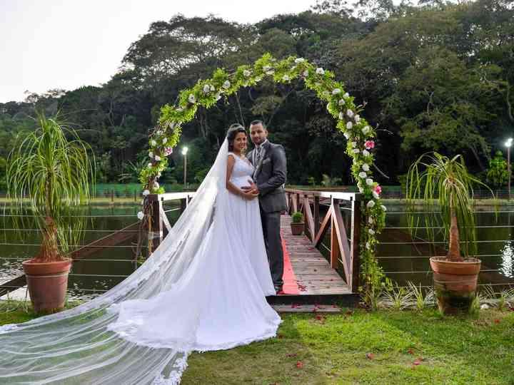 O casamento de Elza e Gustavo
