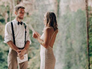 O casamento de Nayara e Wilfried