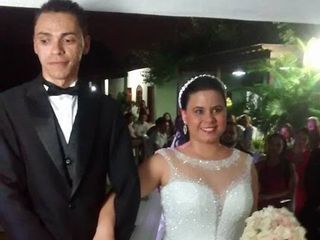 O casamento de Thais e Jardiel 1