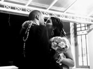 O casamento de Silviane e João